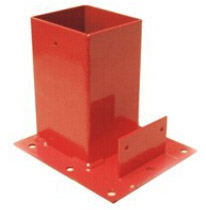 Safety Products - Steel Guardrail Base