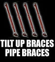 Tilt Up Braces - Pipe Braces